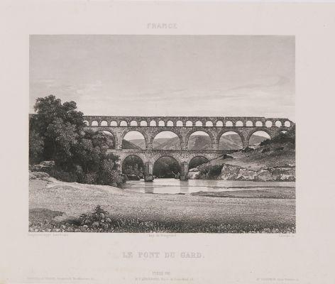 France. Le pont du Gard