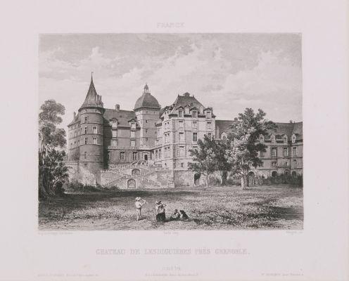 France. Château de Lesdiguières près Grenoble