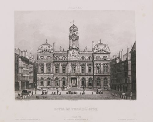France. Hôtel de Ville de Lyon