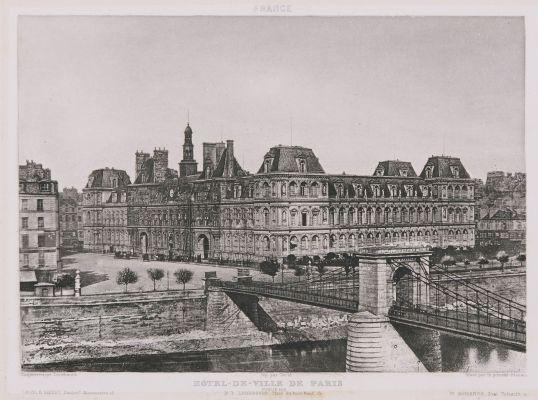 France. Hôtel de Ville de Paris