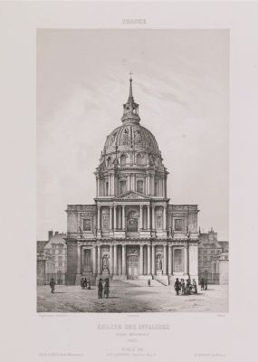 France. Eglise des Invalides