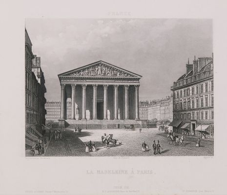 France. La Madeleine à Paris