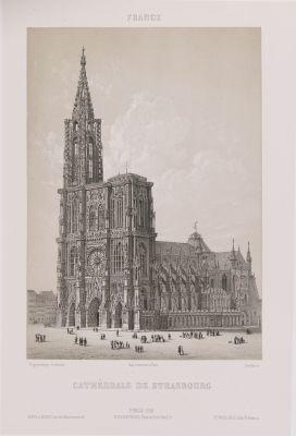 France. Cathédrale de Strasbourg