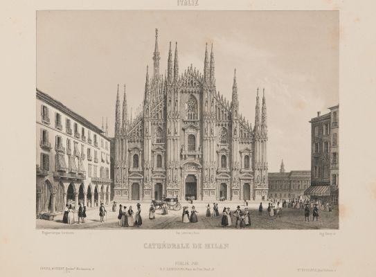 Italie. Cathédrale de Milan