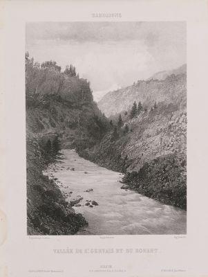 Sardaigne. Vallée de St Gervais et du Bonant