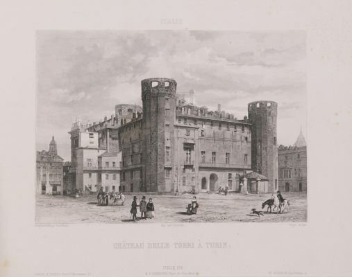 Italie. Château delle Torri à Turin