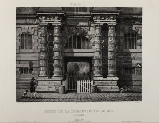 Porte de la Bibliothéque du Roi