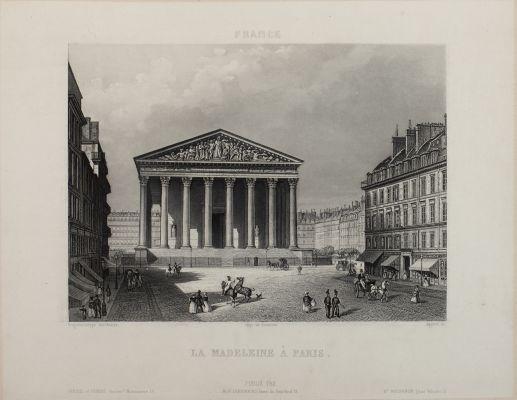La Madeleine À Paris