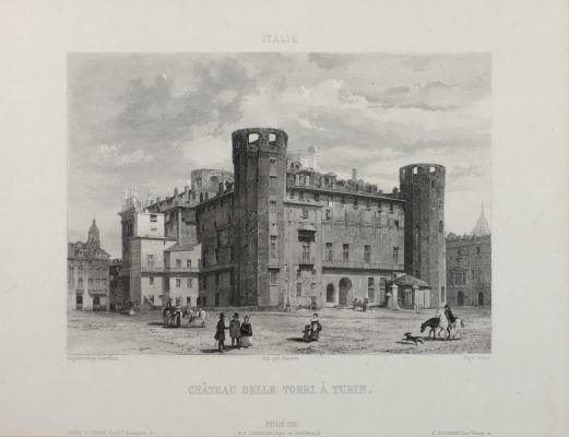 Château Delle Torri À Turin