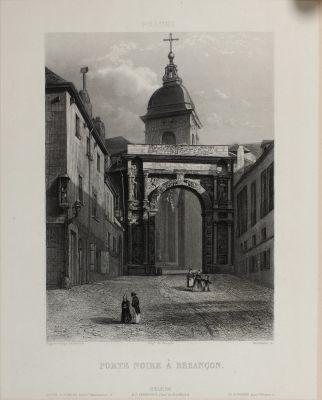 Porte Noire À Besançon