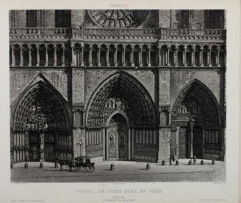 Portail de Notre Dame de Paris