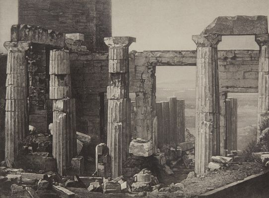 Les Propylees A Athens