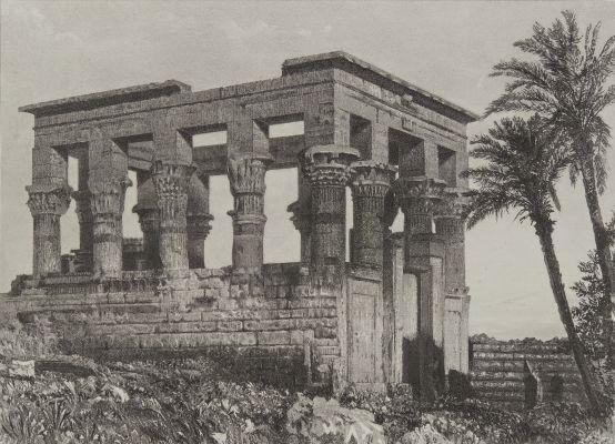 Nubie Temple Hypethre Dans L'Ile de Philae