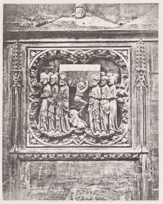 Bas-relief from the Exterior of Notre Dame