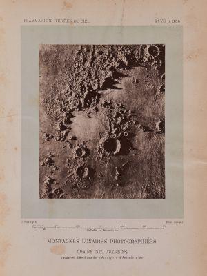 Montagnes lunaires photographiées