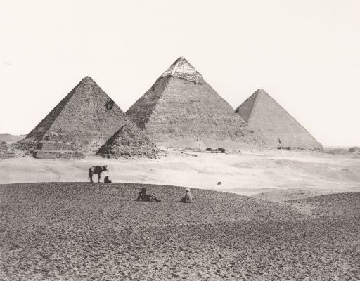 The Great Pyramids at El Giza