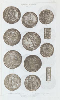 Monnaies d'argent PL VIII