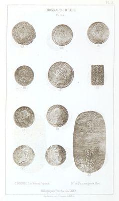 Monnaies d'or PL X
