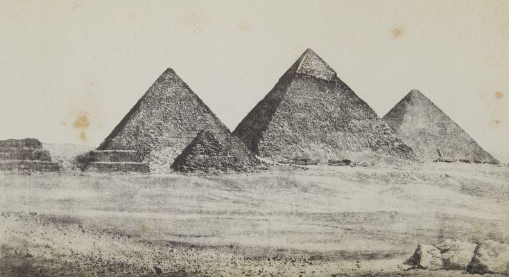 Les Trois Pyramides de Djizeh