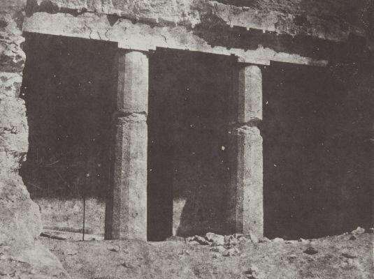 Hypogées de Beni-Hassan. Progrès de L'Ordere Dorique. Haute-Égypte