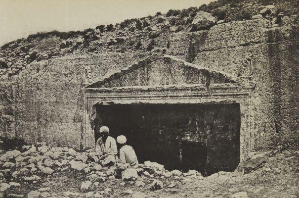 Tombeau Des Juges. Jérusalem.