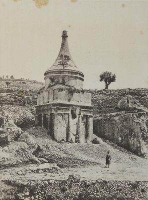 Tombeau D'Absalon. Jérusalem-Vallée de Josaphat