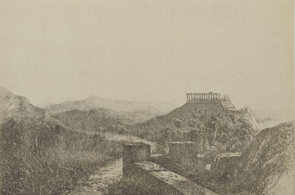Ruines du Temple de Junon Lucine. Agrigente (Sicile).