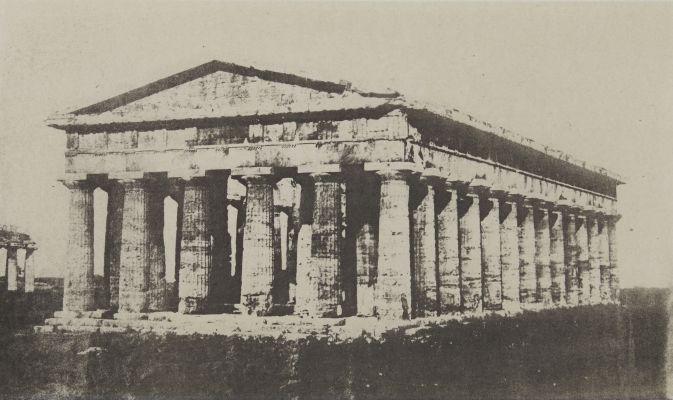 Temple de Pæstum. Près Salerne (Italie méridionale).