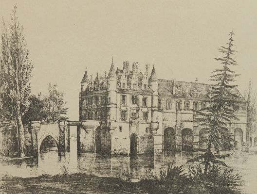 Chateau de Chenonceaux. Indre-et-Loire