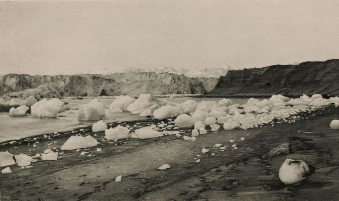 East End of Muir Glacier