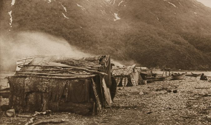 Indian Sealers' Camp, Yakutat Bay