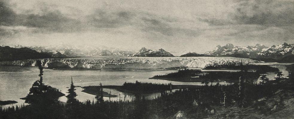 Columbia Glacier, From Heather Island