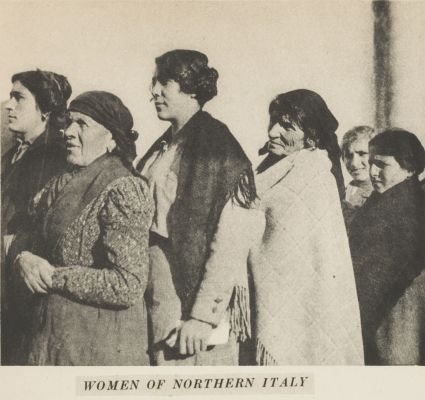 Women of Northern Italy