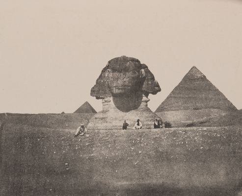 Plate II. The Sphynx an the Second Pyramid