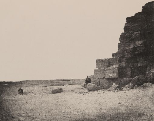 Plate III. North East Angle of the Great Pyramid