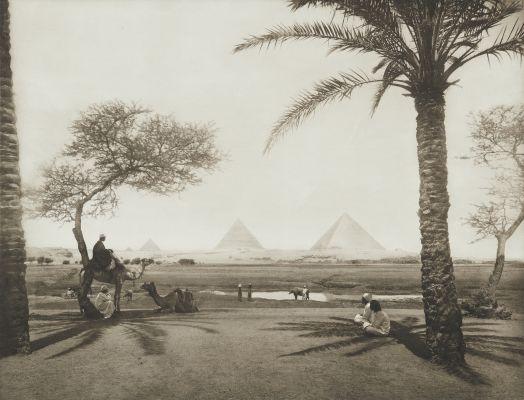 Pyramids at Gizeh