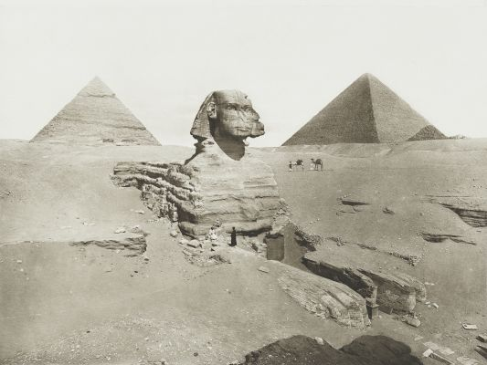 Sphinx at Gizeh