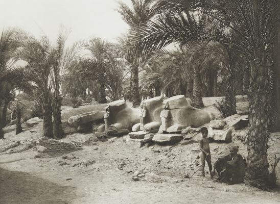 Avenue of Sphinxes at Karnak