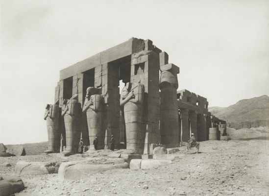 Rameseum at Thebes