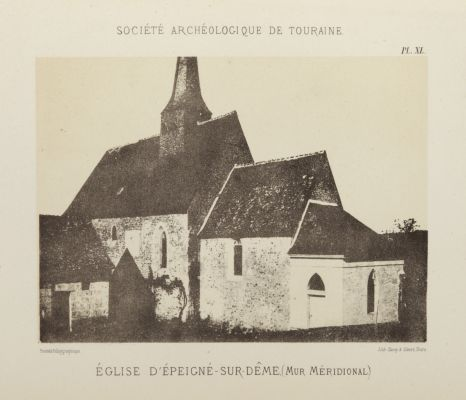 Eglise D'Epeigne-sur-Deme, (Mur Meridonal.)