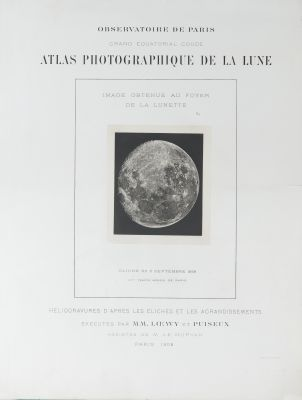 Atlas photographique de la Lune (cover)