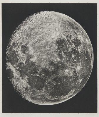 Atlas photographique de la Lune (cover detail)