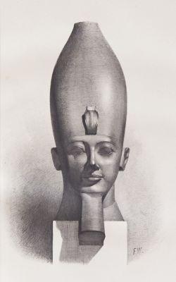 Head of a Deity or King/Egyptian
