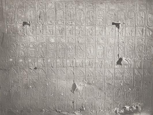 26 Abydos Temple de Séti Table des Rois 2e Partie