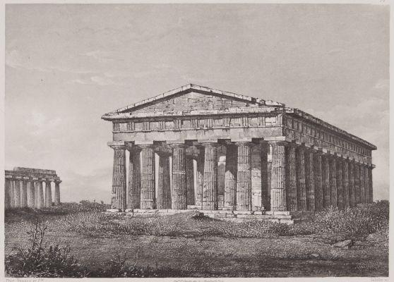 Temple Hypéthre de Pestum