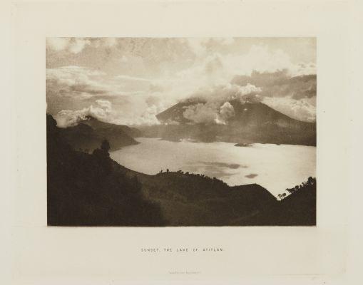 Sunset, the Lake of Atitlan