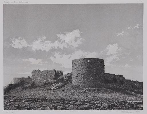 PL. 8 Sidon: Chateau de St Louis Côte Sud
