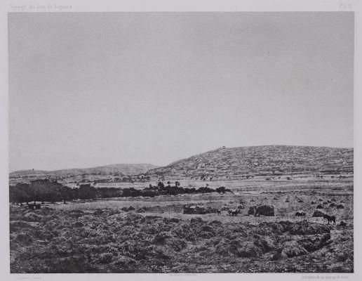 PL. 11 Sidon: Vue de Mar Elias Prise du Chateau de St. Louis