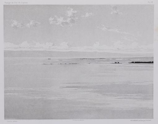 PL. 18 Tyr: Brise-Lames du Port Égyptien. Vue Prise Des Dunes