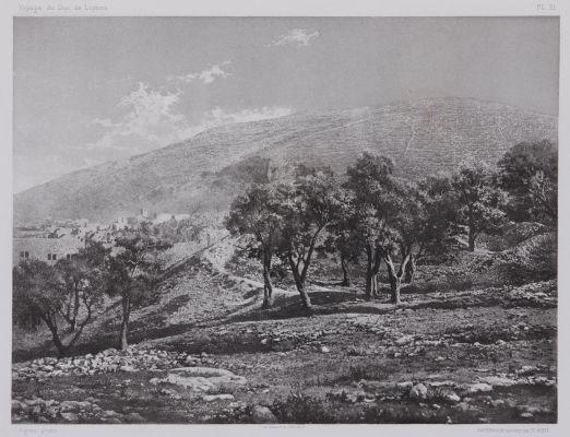 PL. 21 Naplouse: Mont Garizim